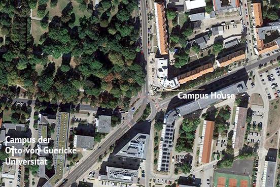 Studentenwohnungen im Campus House Magdeburg, Ernst-Lehmann-Straße